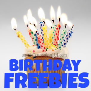 List of over 50 freebies you can get on your birthday!