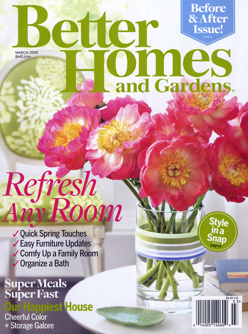 Better homes and gardens magazine 24 issues free for Free house magazines