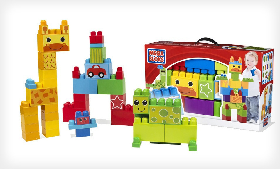 Mega Bloks Build Big Deluxe Creation Box