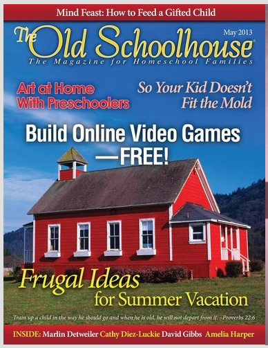 The Old Schoolhouse Magazine May 2013