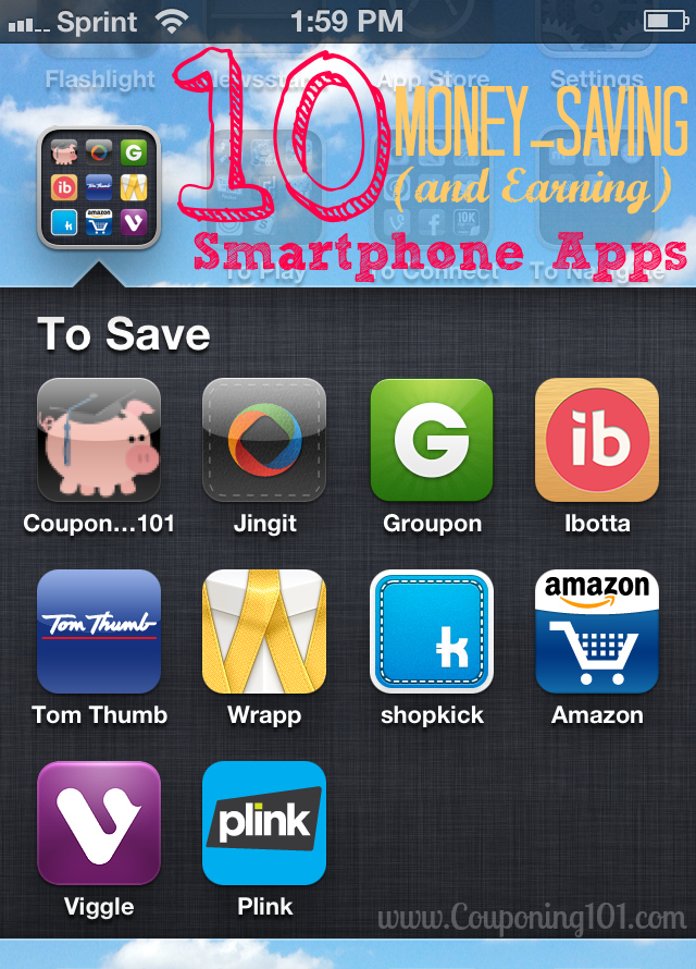 10 Money-Saving (and Earning) Smartphone Apps