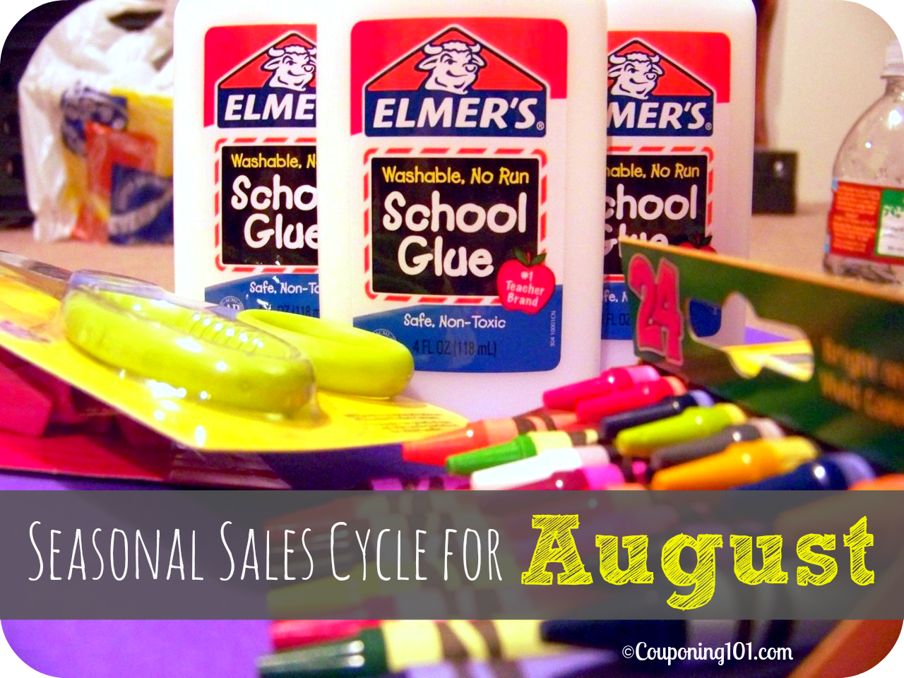 Wondering what products are on sale this month? Here is a list of items you can find at their rock-bottom prices during the month of August. Lots of lunchbox goodies, school supplies, and tons of tasty produce!