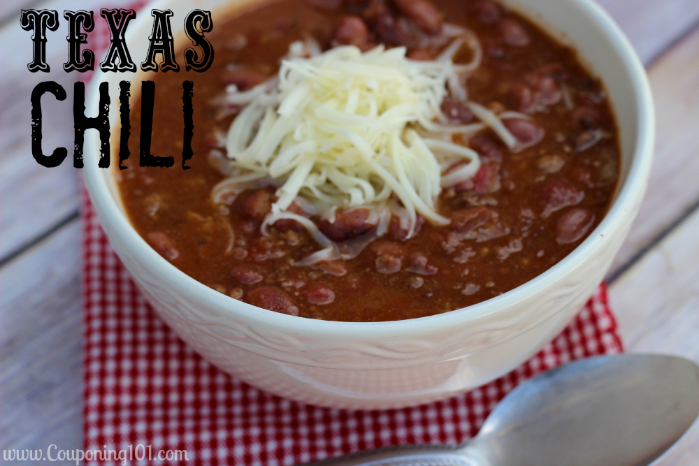 Incredibly easy chili recipe