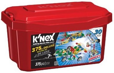 K'Nex 375-piece Deluxe Building Set