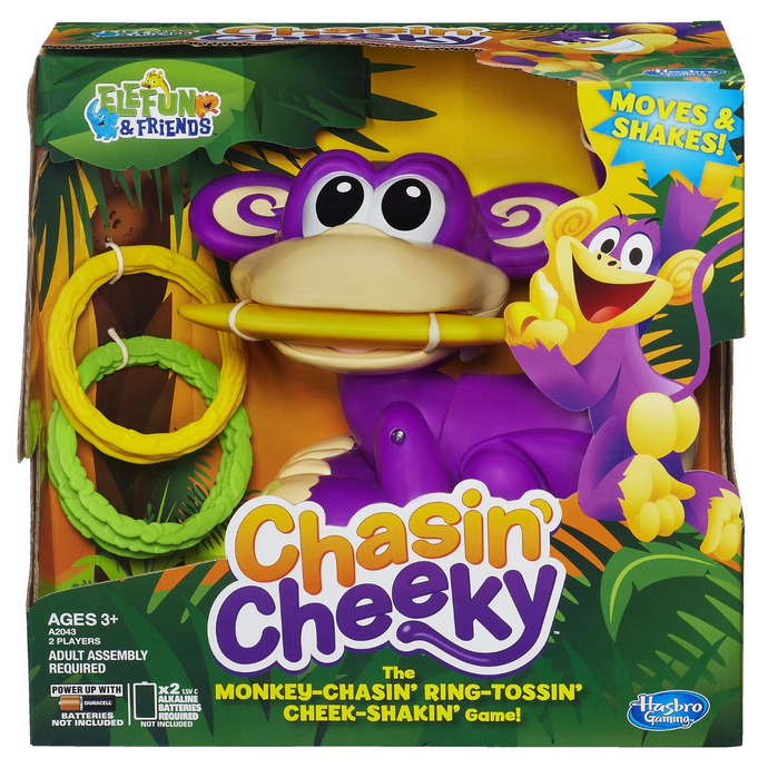 Enter to win a Chasin' Cheeky Game and 6 other awesome Hasbro toys ($275 value)!