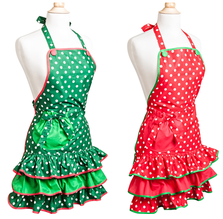 Flirty Christmas Aprons