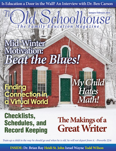 The Old Schoolhouse Mag January