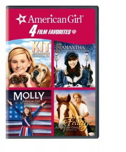 American Girl 4 Film Favorites Kit Samantha Molly Felicity
