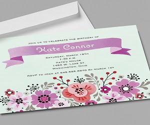 Vistaprint Invitation