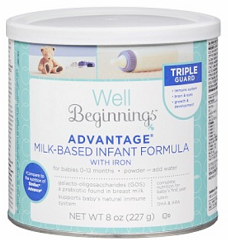 Well Beginnings Infant Formula