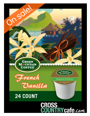 Green Mountain French Vanilla Coffee K Cups