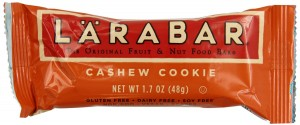Larabar Gluten-Free Cashew Cookie Fruit & Nut Food Bar