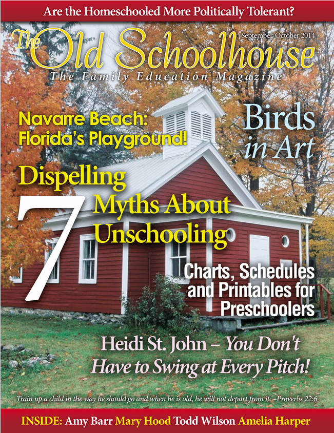 Free Download of The Old Schoolhouse Magazine (September/October 2014)