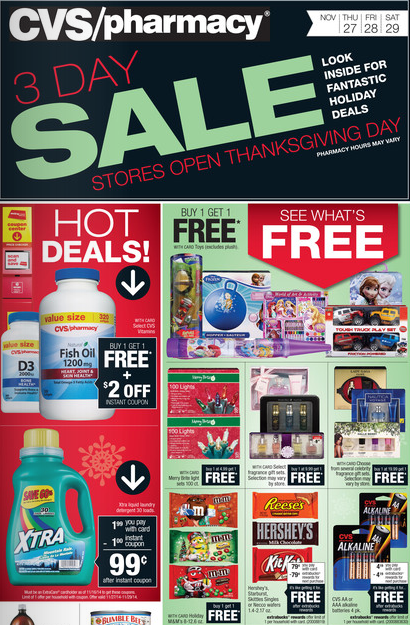 CVS Black Friday 2014 Deals!