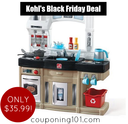 Great deal on a Toy Kitchen from Kohl's!