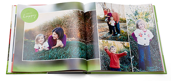 Free Custom Photo Book from Shutterfly