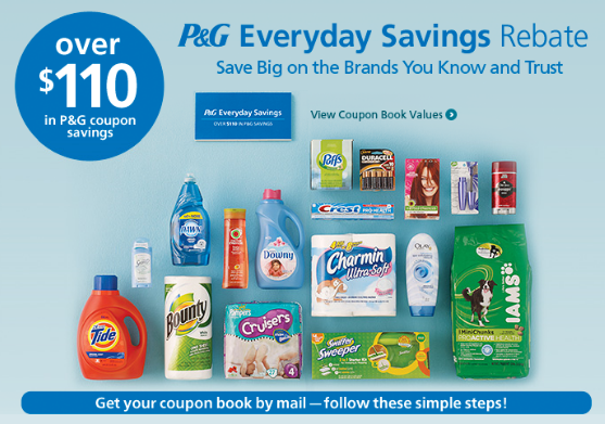 Proctor and gamble rebate coupon book http casino