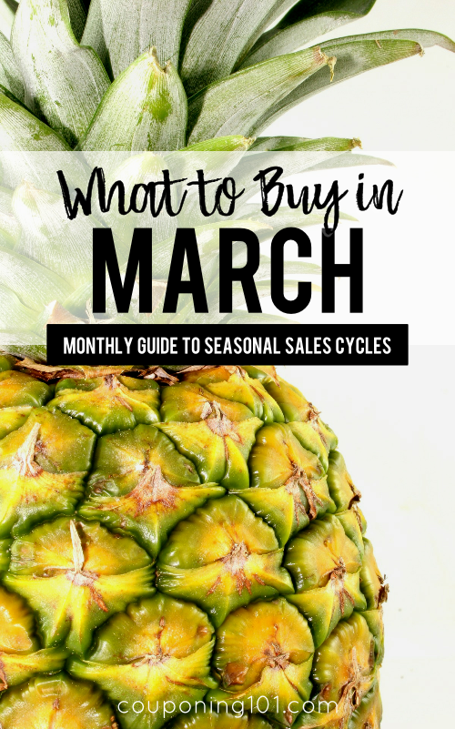 Wondering what products are on sale this month? Here is a list of items you can find at their rock-bottom prices during the month of March. Lots of cleaning supplies, frozen foods, and tasty produce!