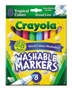 graphic about Crayola Coupons Printable identified as Fresh $1/1 Crayola Markers Printable Coupon \u003d 97¢ at Walmart