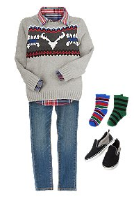 Cozy Lodge Boys Outfit