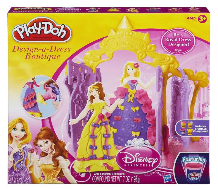 Enter to win a Play-Doh Princess Design-a-Dress Playset and 6 other awesome Hasbro toys ($275 value)!