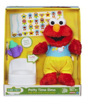 Enter to win a Potty Time Elmo and 6 other awesome Hasbro toys ($275 value)!