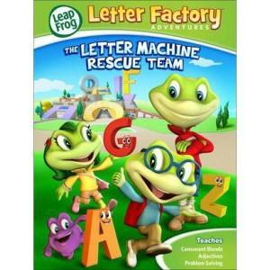LeapFrog Letter Factory Adventures DVD