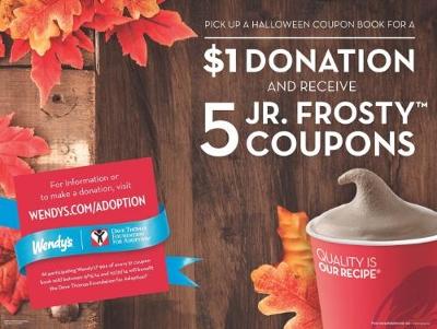 Wendy's Jr. Frosty Coupons