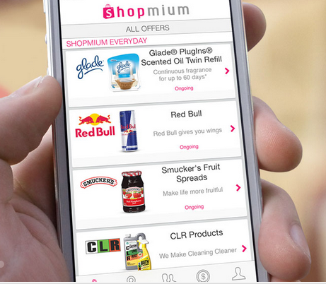 Earn cash back on your grocery purchases with the Shopmium app!
