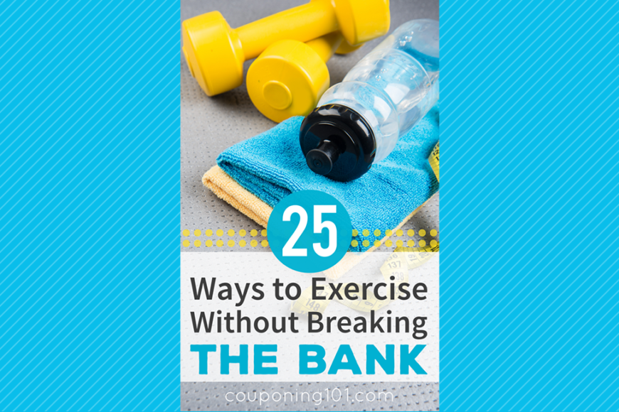 Exercise to save money