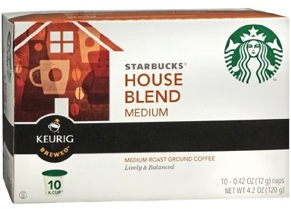 Starbucks House Blend K-Cups