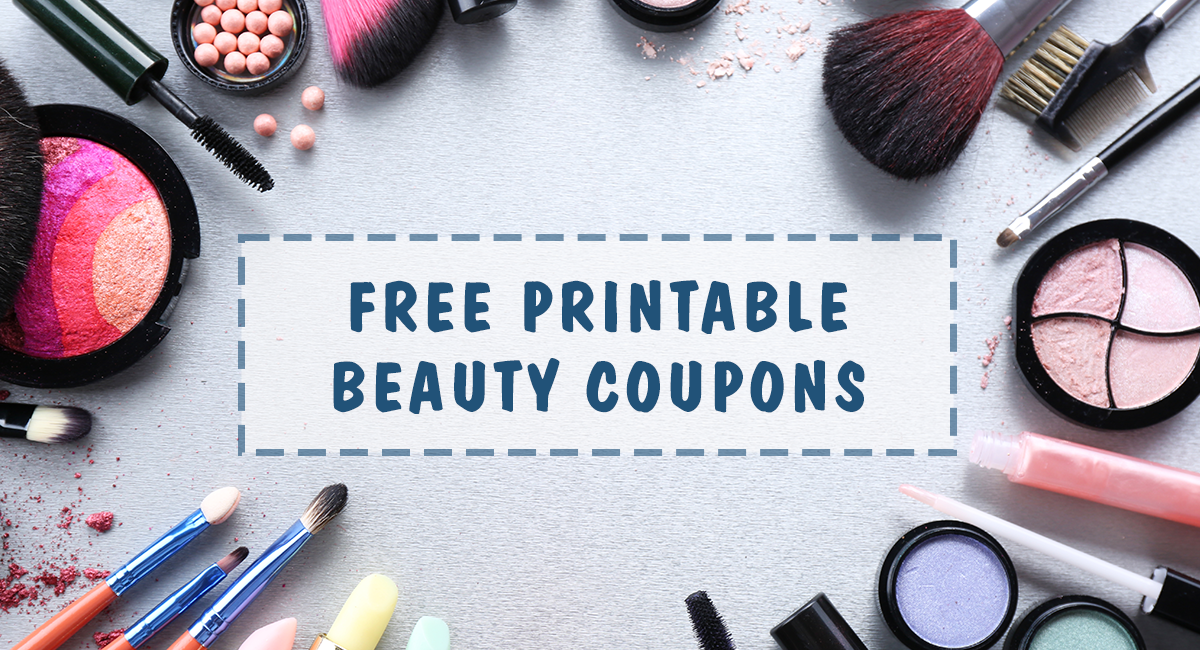 photograph about Printable Cosmetic Coupons identify Totally free Printable Magnificence Coupon codes Roundup - Couponing 101